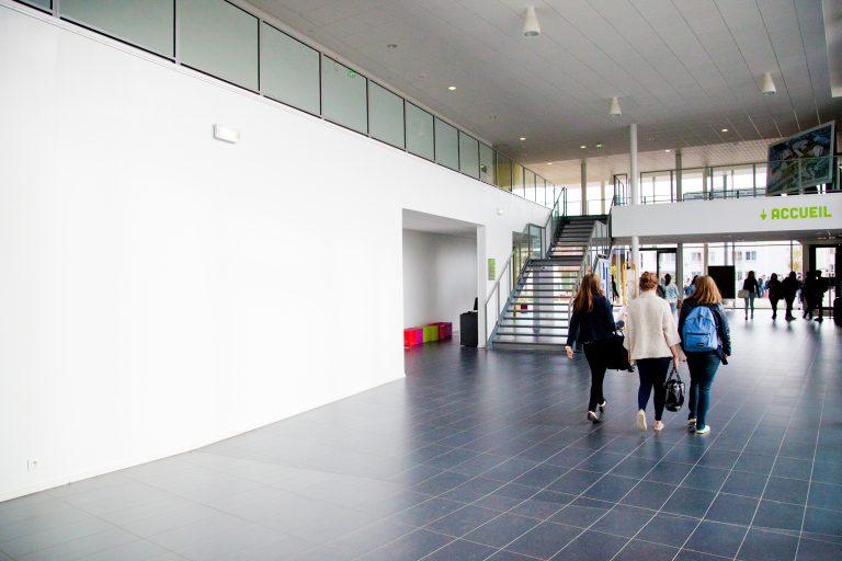 Hall du Campus des Métiers et de l'Artisanat